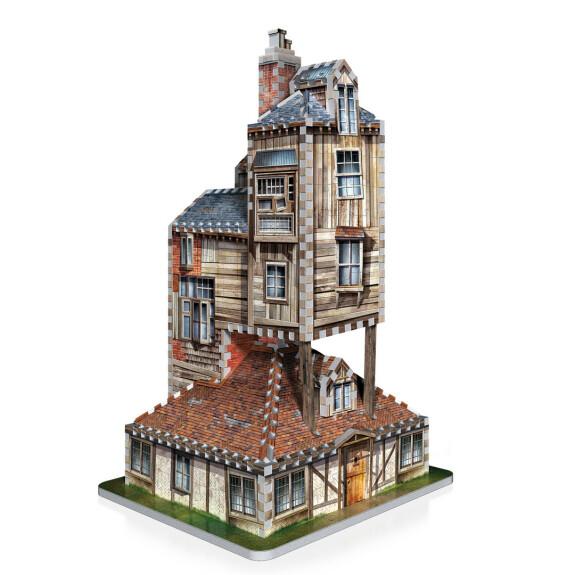 Le Terrier La Maison des Weasley puzzle 3D Wrebbit 415 pièces