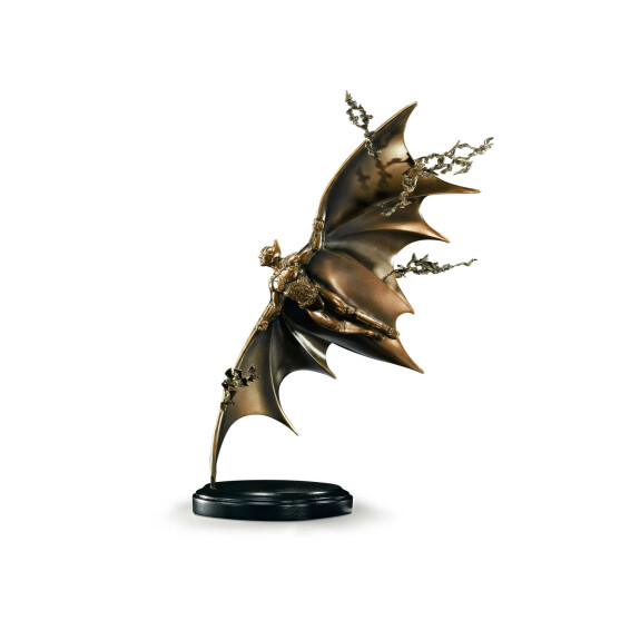 Statue en bronze de Batman volant Batman Begins