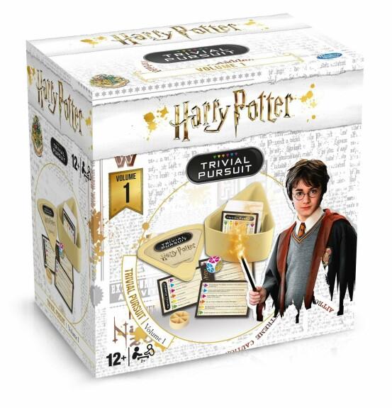 Trivial Pursuit Format de voyage Harry Potter Volume 1 Version Française