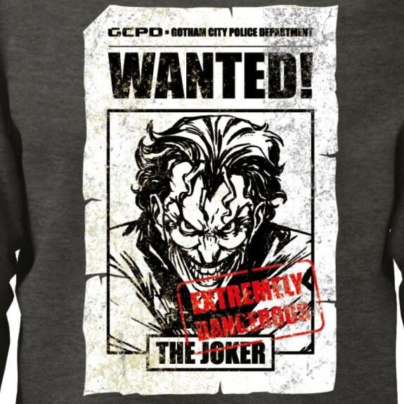 Sweatshirt Joker Wanted anthracite-chiné