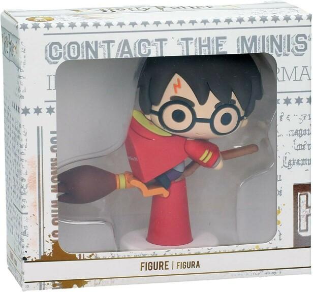 Mini Figurine en Caoutchouc Harry Potter sur Nimbus 2000