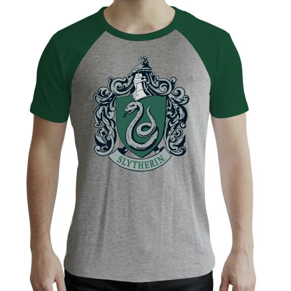 T-shirt Serpentard gris et vert