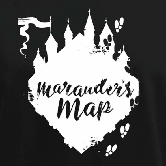 Sweat Femme Marauder's Map noir