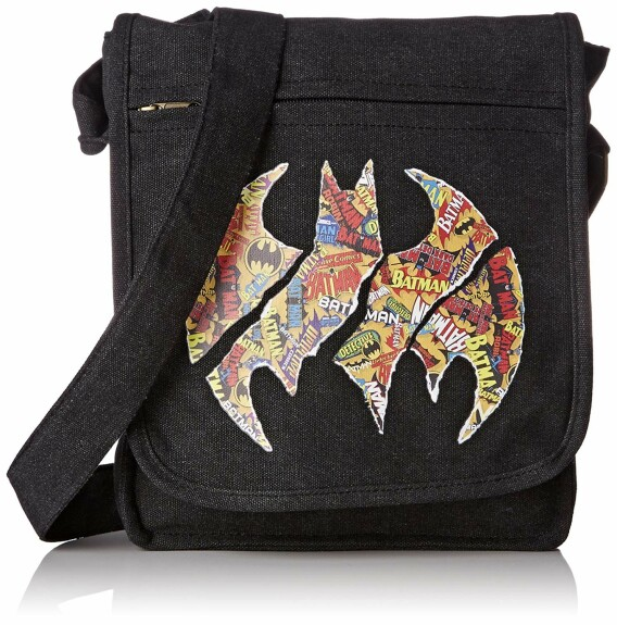 Sac Besace Logos Batman Petit Format