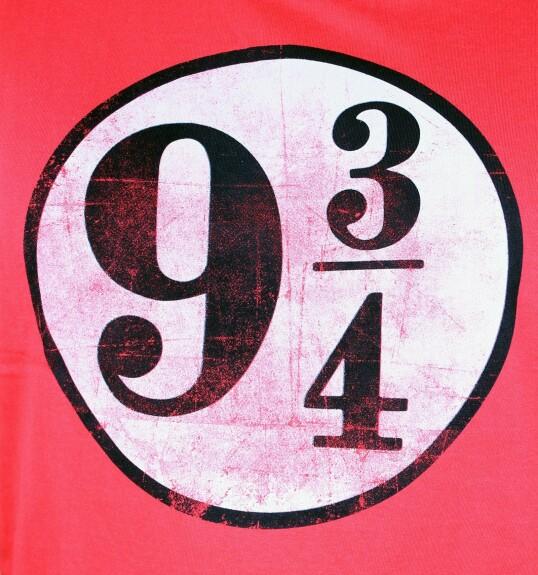 T-shirt Quai 9 3/4 rouge