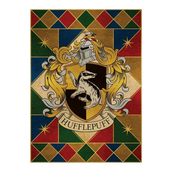 Poster Armoiries de Poufsouffle MinaLima