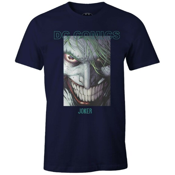 T-shirt The Joker Smiling by Jim Lee