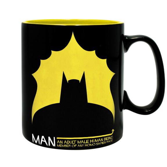 Mug Batman et chauve souris grande contenance