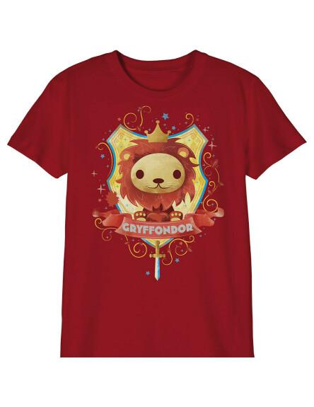 T-shirt Enfant Chibi Gryffondor