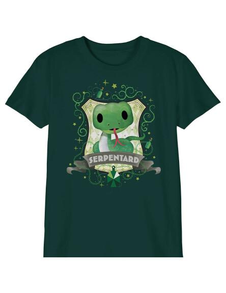 T-shirt Enfant Chibi Serpentard