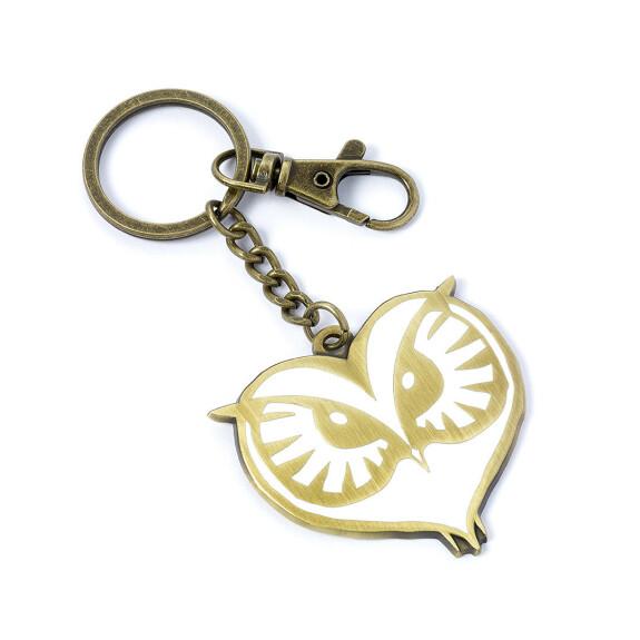 Porte-clés Visage de chouette