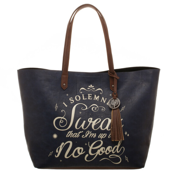 Cabas - tote bag I Solemnly Swear that I am up to no Good