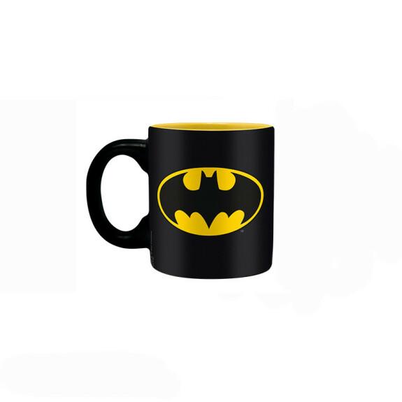 Coffret cadeau Batman mug expresso verre porte clés
