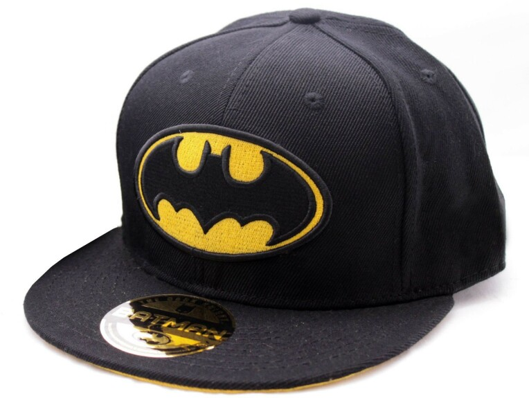 Casquette Batman logo visière plate