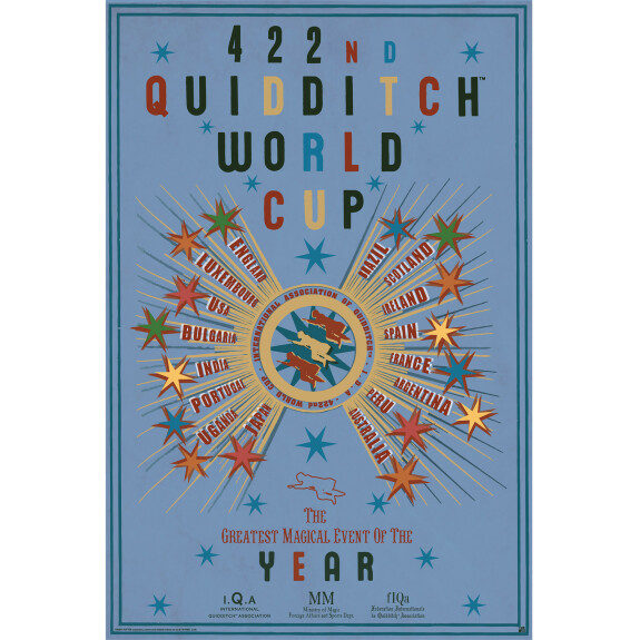 Poster Quidditch World Cup