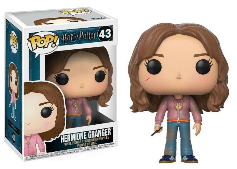 Figurine Hermione Granger avec Retourneur de Temps Funko POP