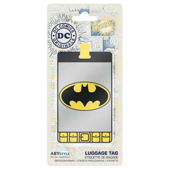 Etiquette de bagage Batman
