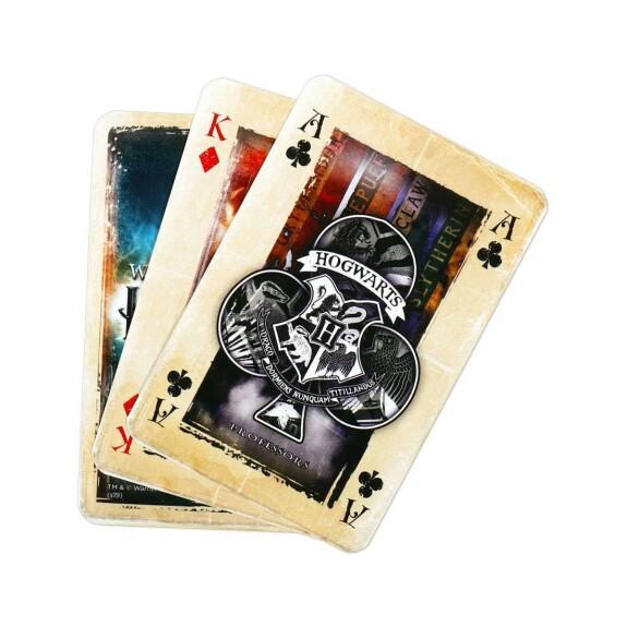 Jeu de 54 cartes à jouer Harry Potter Waddingtons