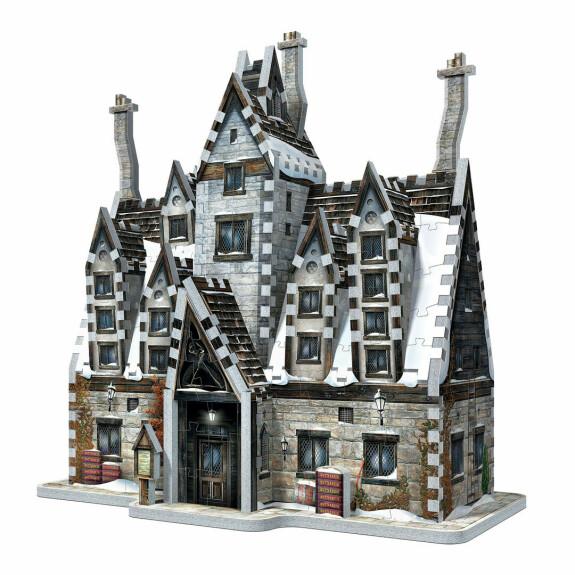 Pré-au-Lard Les Trois Balais Puzzle 3D Wrebbit 395 pièces