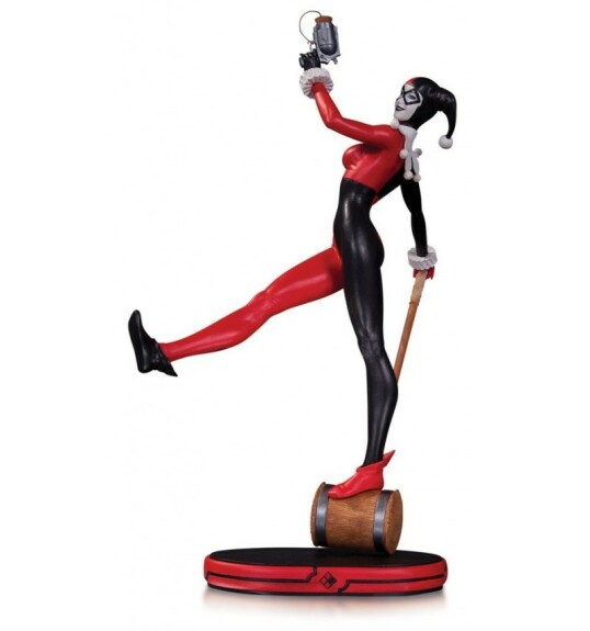 Harley Quinn statue DC Collectibles Cover Girls