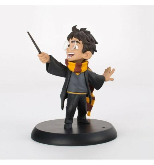 Figurine Harry Potter lançant un sort Quantum Mechanix Q-Fig