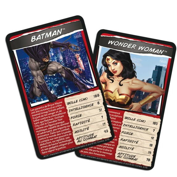 Jeu de Bataille DC Comics Top Trumps