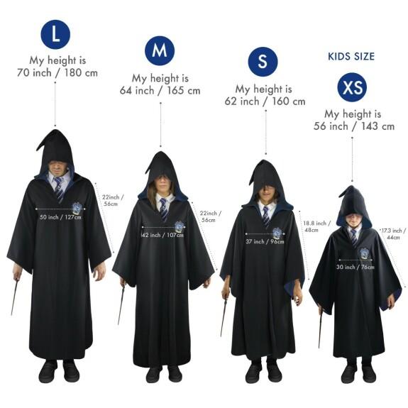 Robe de Sorcier Serdaigle