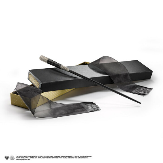Baguette magique Leta Lestrange avec boîte Ollivander