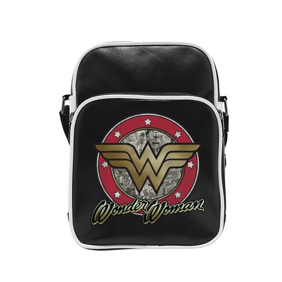 Sac besace Wonder Woman vinyle petit format
