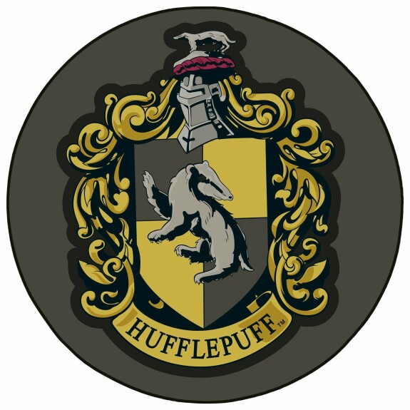 Tapis de sol Harry Potter  Blason Poufsouffle