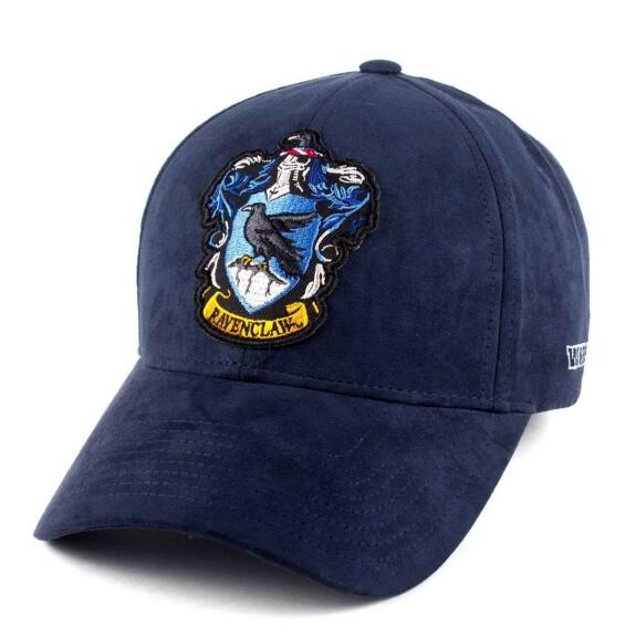 Casquette Serdaigle bleue avec patch visière arrondie