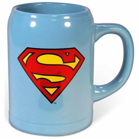 Mug bleu Superman Logo