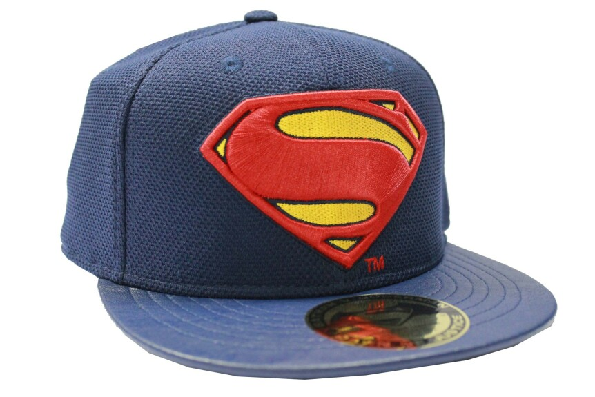 Casquette Superman bleue logo Batman vs Superman
