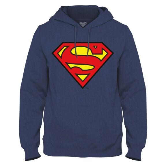 Sweatshirt Superman Logo Marine