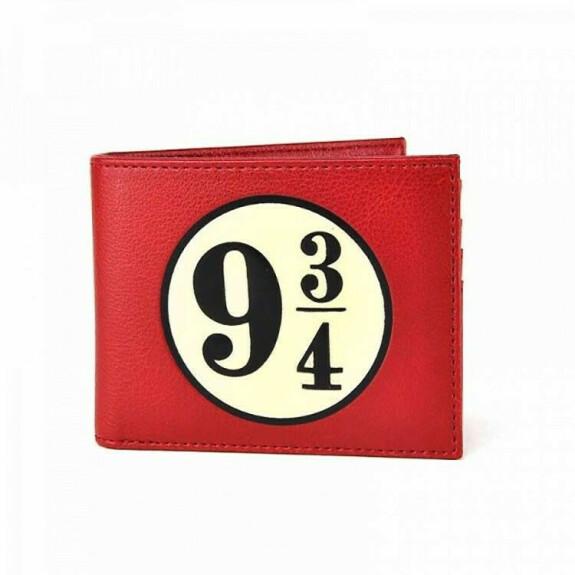 Portefeuille quai 9 3/4 rouge
