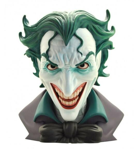 Le Joker buste PVC 23 cm Plastoy