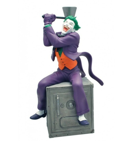 Le Joker tirelire Plastoy 27 cm