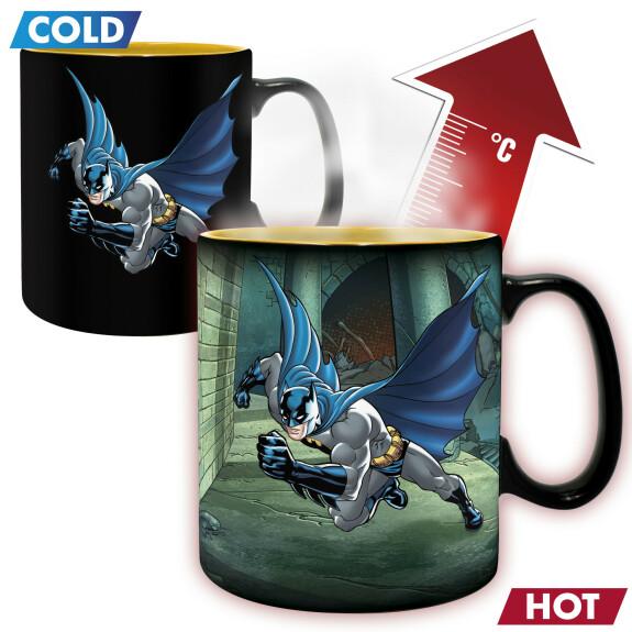 Mug Batman et Joker thermo réactif grande contenance