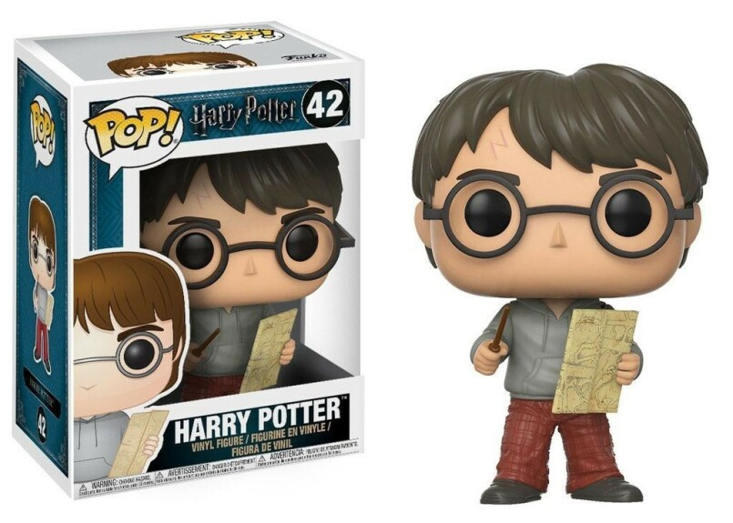 Figurine Harry Potter avec la carte du Maraudeur Funko POP
