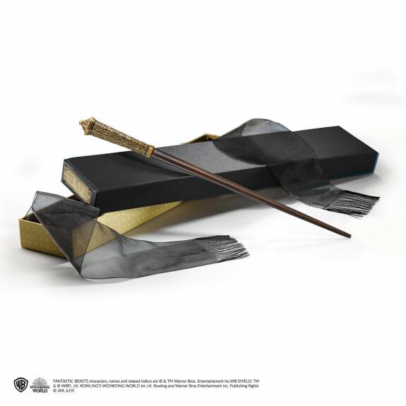 Baguette magique de Corvus Lestrange avec boîte Ollivander