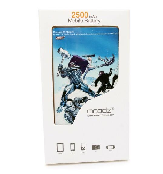 Batterie externe Suicide Squad Android et IPhone 2500mAh