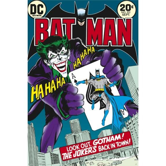 Poster Joker's back in town