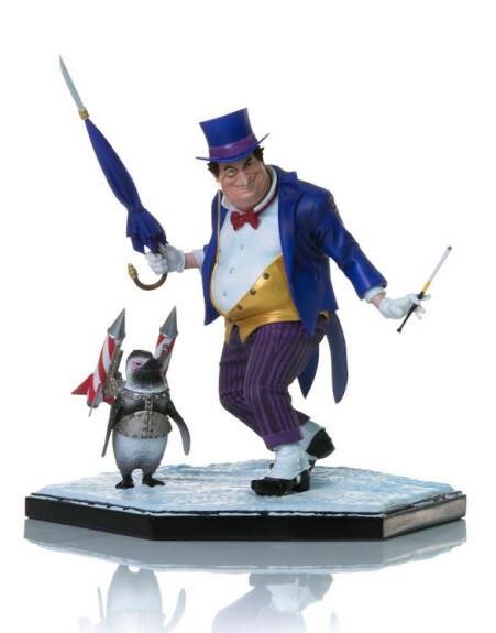 Le Pingouin statue by Yvan Reis 1/10 Iron Studios
