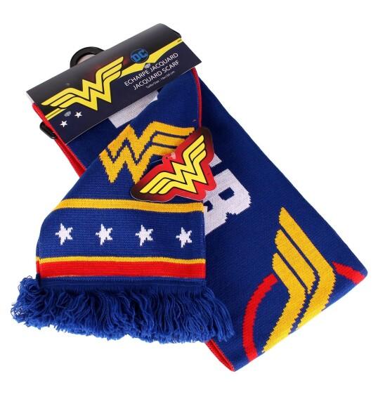 Echarpe Wonder Woman logo classique