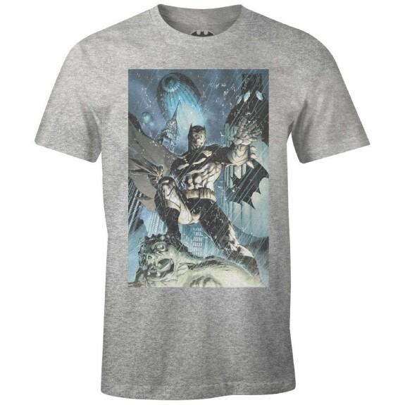 T-shirt Batman Grungy by Jim Lee