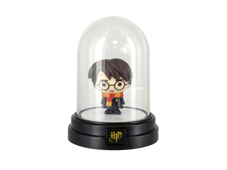 Mini lampe sous cloche figurine Harry Potter