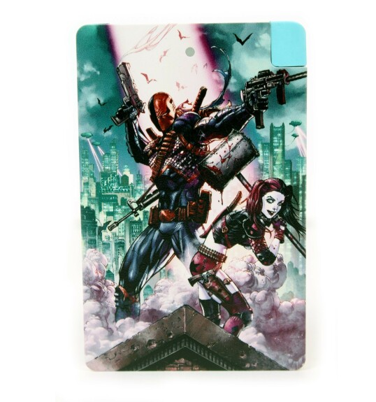 Batterie externe Deathstroke Harley Quinn Android et IPhone 2500mAh