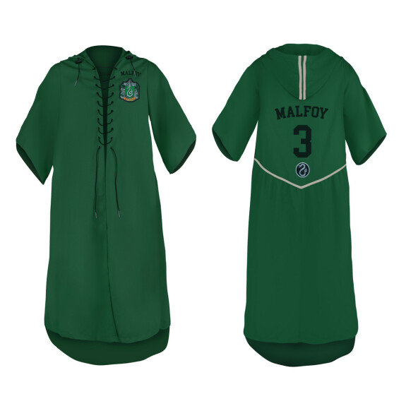 Robe de Quidditch Serpentard de Drago Malefoy
