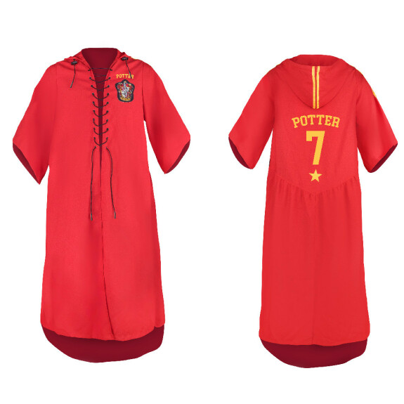 Robe de Quidditch Gryffondor de Harry Potter