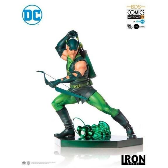 Green Arrow  BDS Art Scale 18cm Iron Studios